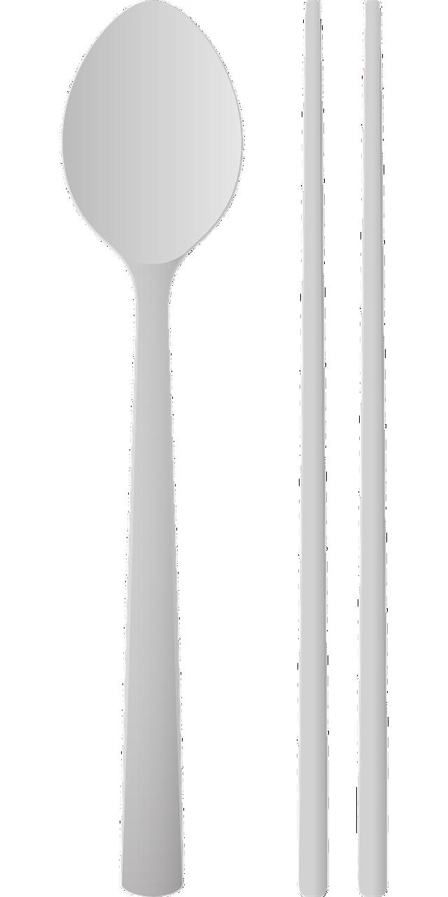 spoons, chopsticks, spoon